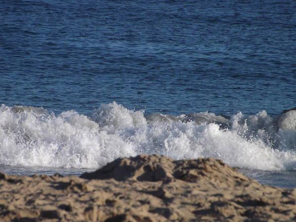 Beach Print featuring the photograph Crashing Waves by Jamie Diamond
