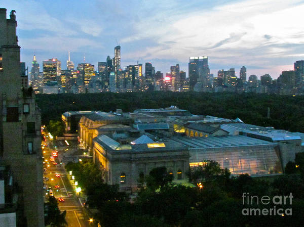 Skyline Print featuring the photograph Looking South Nyc by Randi Shenkman