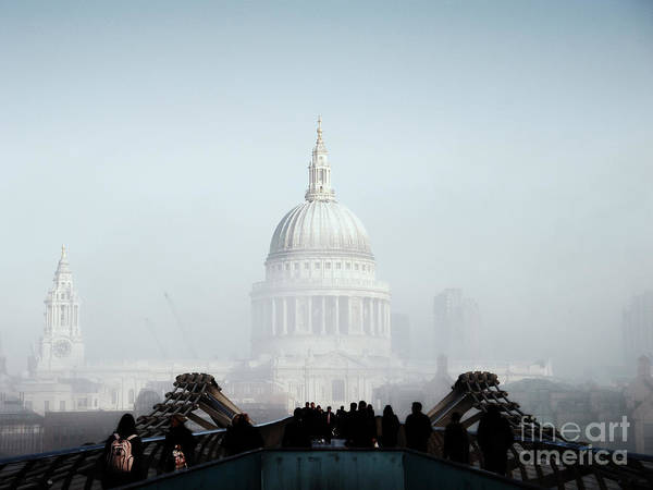 London Print featuring the photograph St Paul's Cathedral by Pixel Chimp