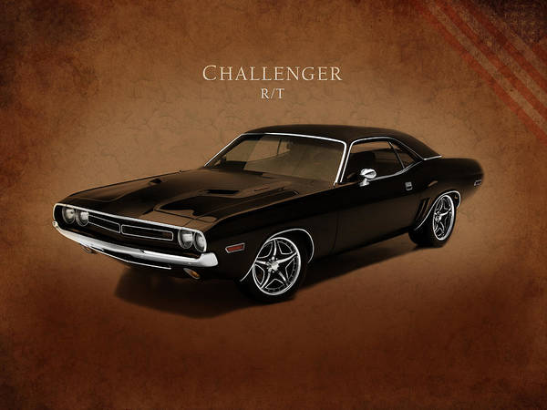 Dodge Challenger Rt Print featuring the photograph Dodge Challenger Rt by Mark Rogan
