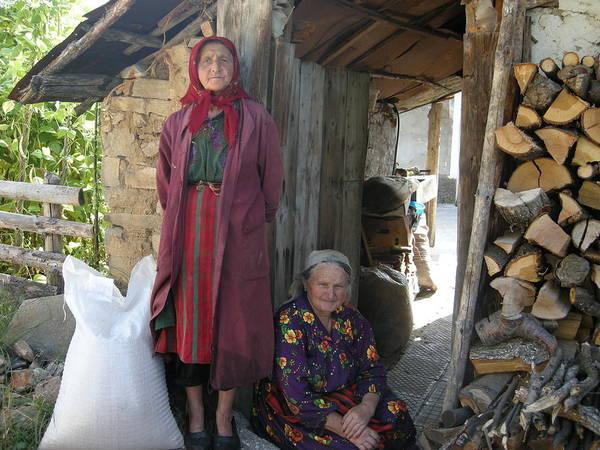 People Print featuring the photograph Rodopean Women-3 by Antoaneta Melnikova- Hillman