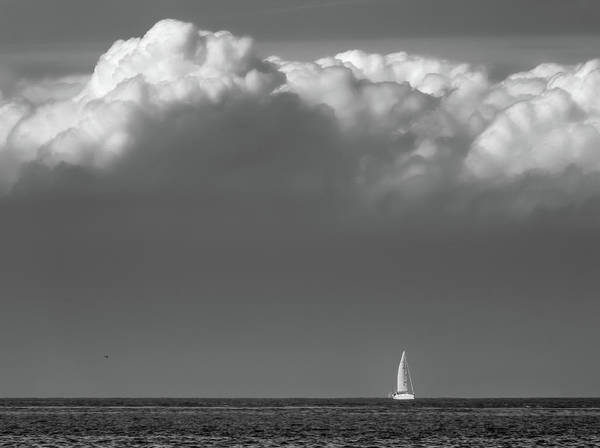 Sailboat Print featuring the photograph Sailing Home by Wim Lanclus