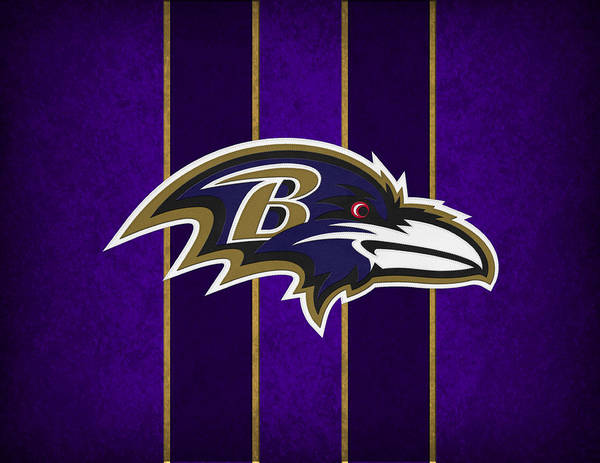 Ravens Print featuring the photograph Baltimore Ravens by Joe Hamilton