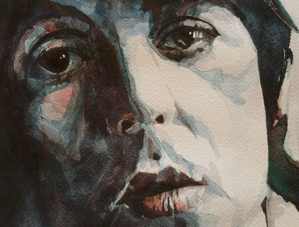 Paul Mccartney Print featuring the painting Let Me Roll It by Paul Lovering
