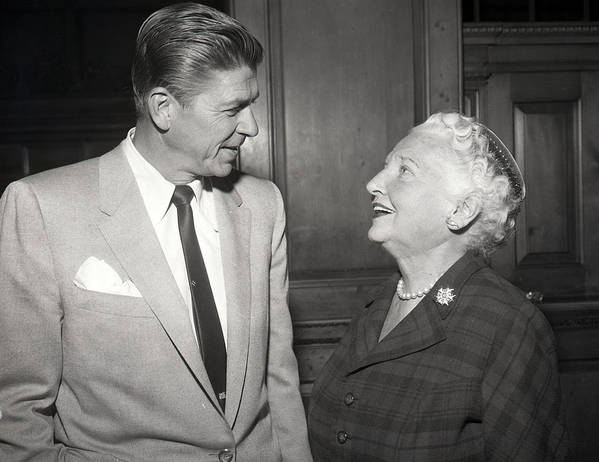 President Print featuring the photograph Ronald Reagan by Retro Images Archive