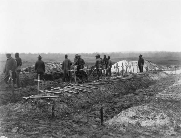 History Print featuring the photograph African-american Soldiers Of The 321st by Everett