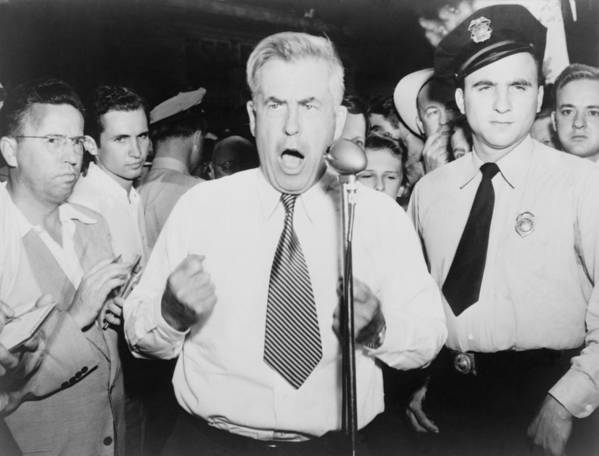 History Print featuring the photograph Henry Wallace 1888-1965, 1948 by Everett