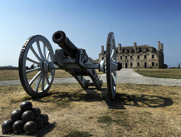 Old Fort Niagara Print featuring the photograph Old Fort Niagara by Peter Chilelli