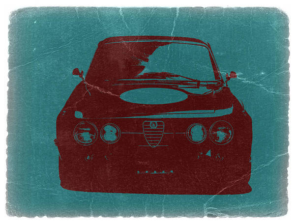 Alfa Romeo Gtv Print featuring the photograph Alfa Romeo Gtv by Naxart Studio