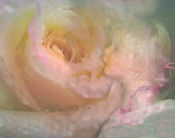 Girl Print featuring the photograph Innocent Beauty by Shirley Sirois