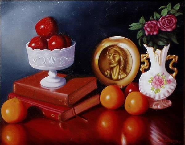 Still Life Print featuring the painting Bravo by Gene Gregory