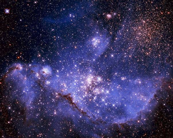 Astronomy Print featuring the photograph Stars And The Milky Way by Don Hammond