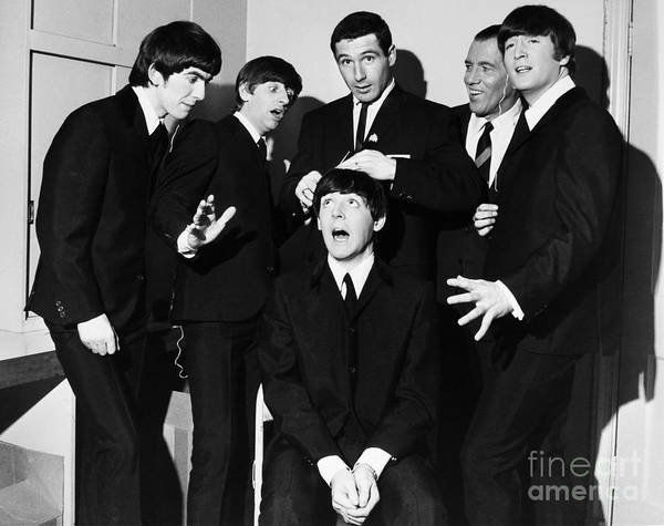 1964 Print featuring the photograph The Beatles, 1964 by Granger