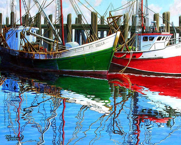 Cape Cod Print featuring the painting Cape Cod Paintings by Michael Cranford