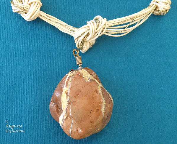 Jewelry Print featuring the jewelry Aphrodite Urania Necklace by Augusta Stylianou