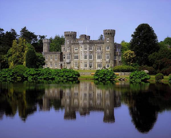 Archaeology Print featuring the photograph Johnstown Castle, Co Wexford, Ireland by The Irish Image Collection