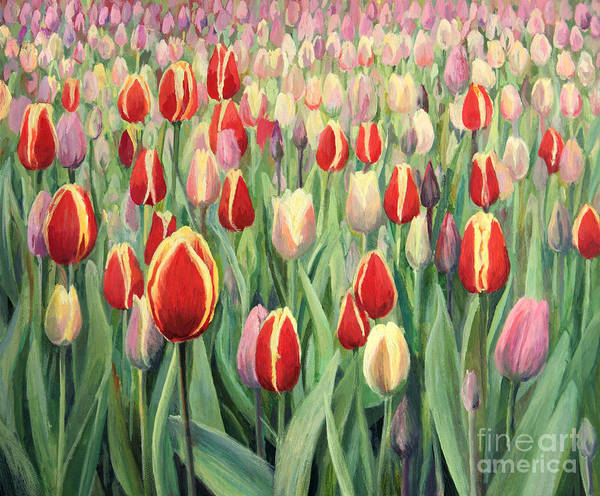 Art Print featuring the painting From The Nature's Palette by Kiril Stanchev