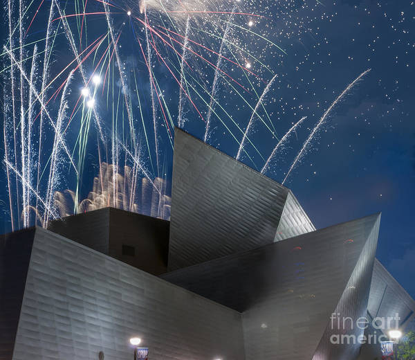 Architectural Detail Print featuring the photograph Happy Fourth by Juli Scalzi
