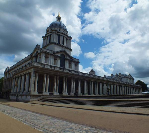 Lord Admiral Nelson Print featuring the photograph The Chapel At The Royal Naval College by Anna Villarreal Garbis
