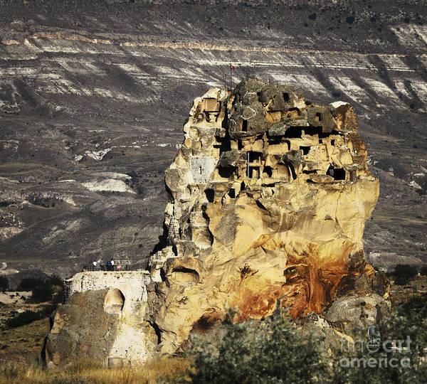 Cappadocia Print featuring the pyrography Cappadocia by Jelena Jovanovic