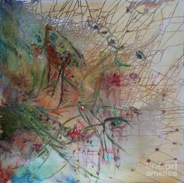 Abstract Print featuring the painting River by Avonelle Kelsey