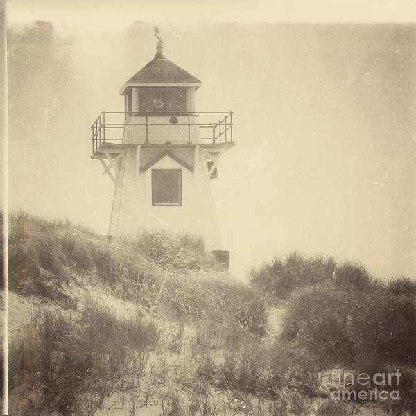 Lighthouse Print featuring the photograph Covehead Light by Meg Lee Photography