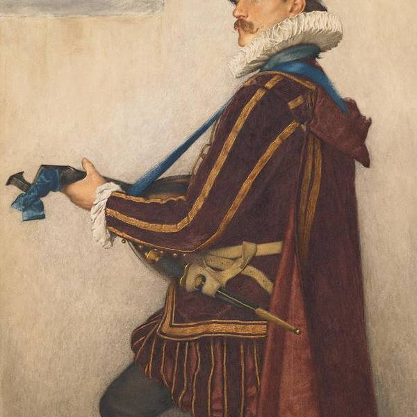 David Print featuring the painting David Rizzio by Sir James Dromgole Linton