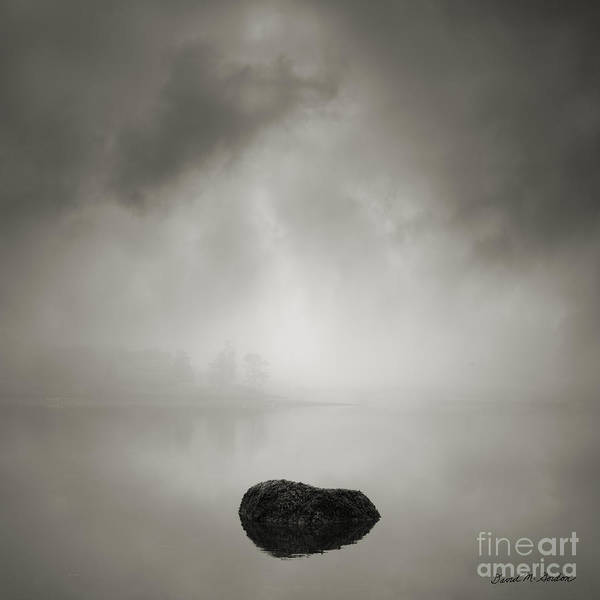 Water Print featuring the photograph Daybreak by Dave Gordon