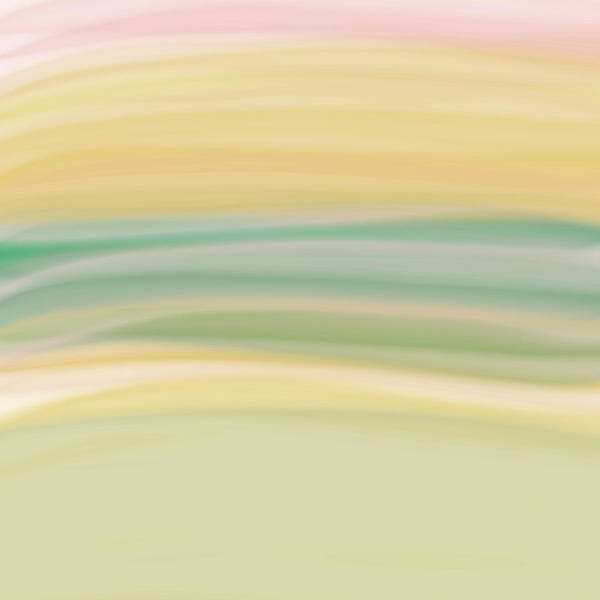 Digital Painting Print featuring the digital art Daydreams 1 by Bonnie Bruno