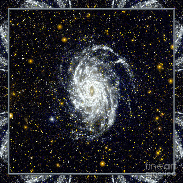 Nasa Print featuring the photograph Nasa Big Brother To The Milky Way by Rose Santuci-Sofranko