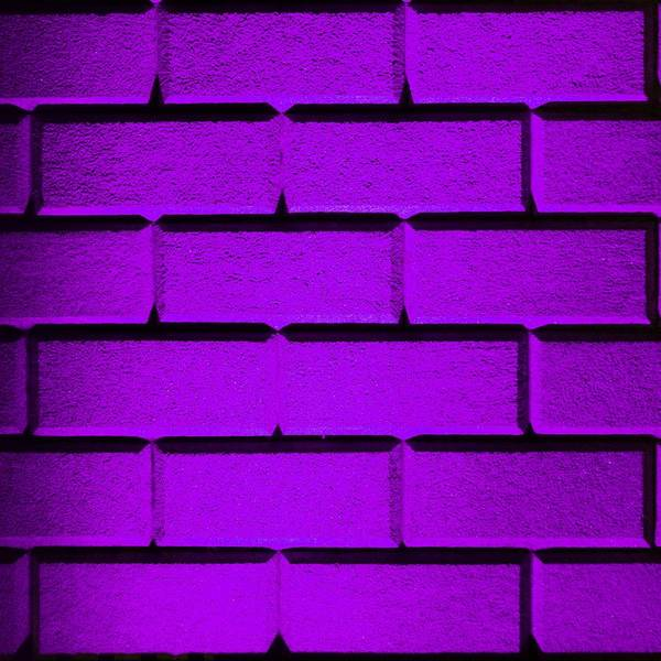 Purple Print featuring the photograph Purple Wall by Semmick Photo