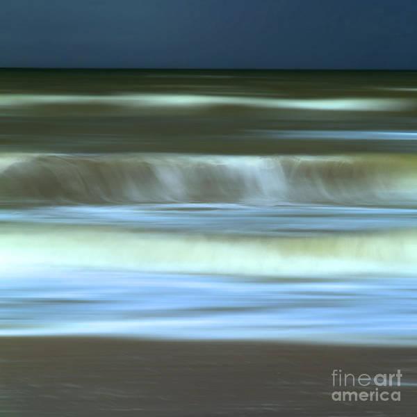 Outdoors Print featuring the photograph Waves by Bernard Jaubert