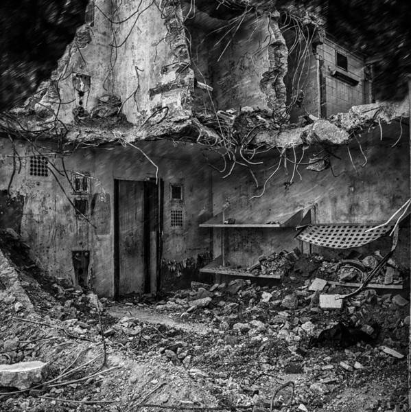 Jail Print featuring the photograph What Was Once A Prison by Bob Orsillo
