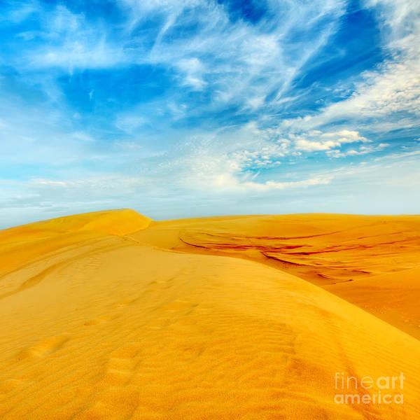 Dunes Print featuring the photograph Desert by MotHaiBaPhoto Prints
