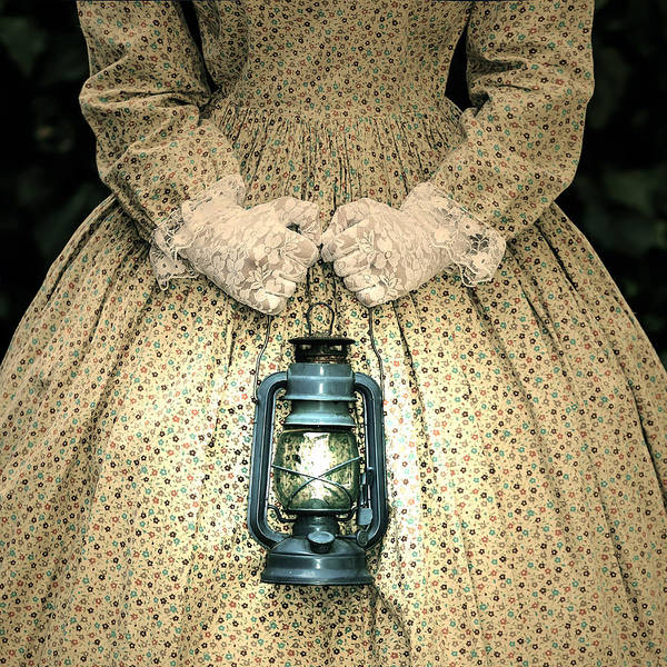 Female Print featuring the photograph Lantern by Joana Kruse