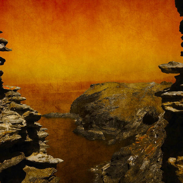 Abstract Print featuring the photograph Abstract View by Svetlana Sewell
