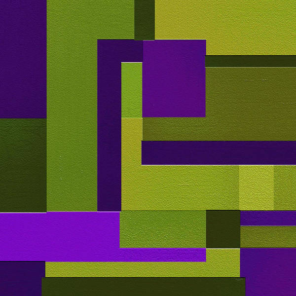 Abstract Art Print featuring the painting Groovy by Ely Arsha