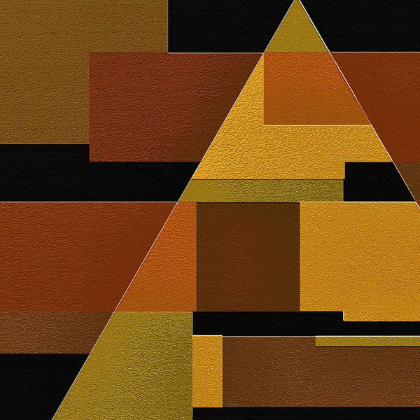 Abstract Art Print featuring the painting Zeal by Ely Arsha