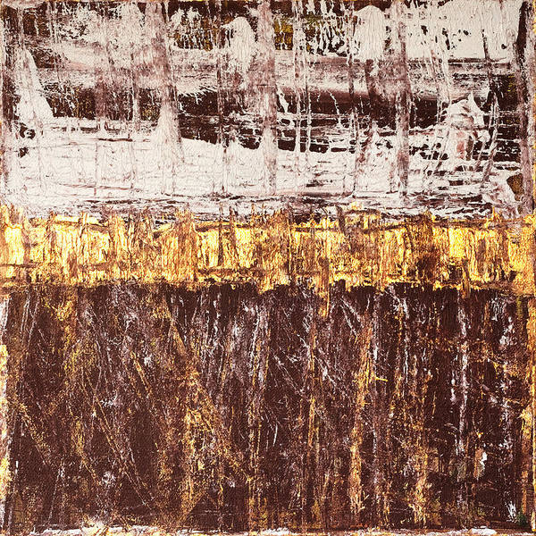 Rothko Print featuring the painting Untitled No. 3 by Julie Niemela