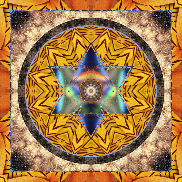 Yoga Art Print featuring the photograph Interspectra by Bell And Todd