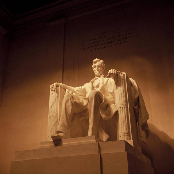 Lincoln Print featuring the photograph Lincoln Memorial by Gene Sizemore