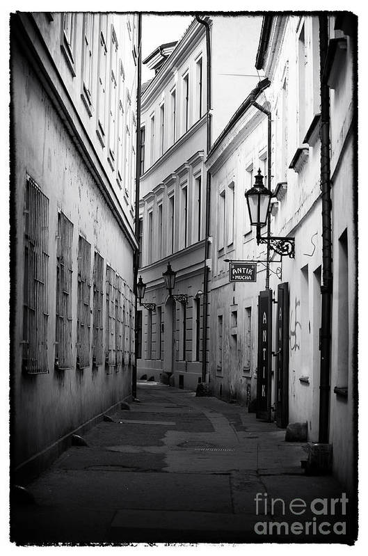 Memories Of Prague Print featuring the photograph Memories Of Prague by John Rizzuto