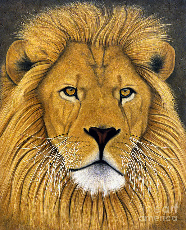 Lawrence Supino Print featuring the painting Lionel by Lawrence Supino