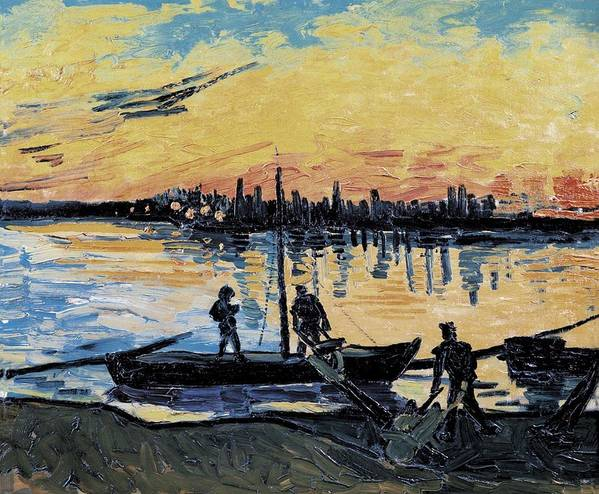 Horizontal Print featuring the photograph Gogh, Vincent Van 1853-1890. The by Everett