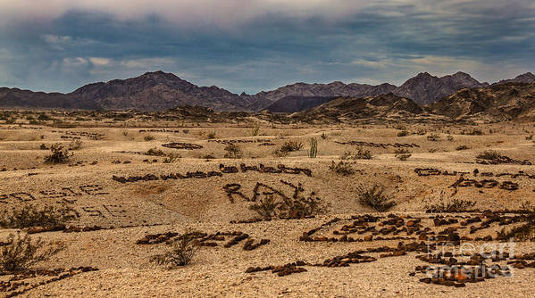 California Print featuring the photograph Valley Of The Names by Robert Bales