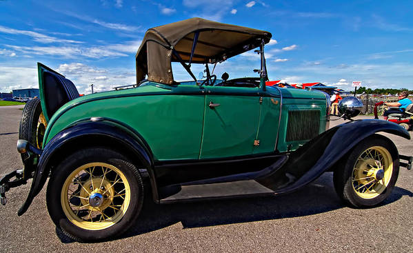 Ford Print featuring the photograph 1931 Model T Ford by Steve Harrington