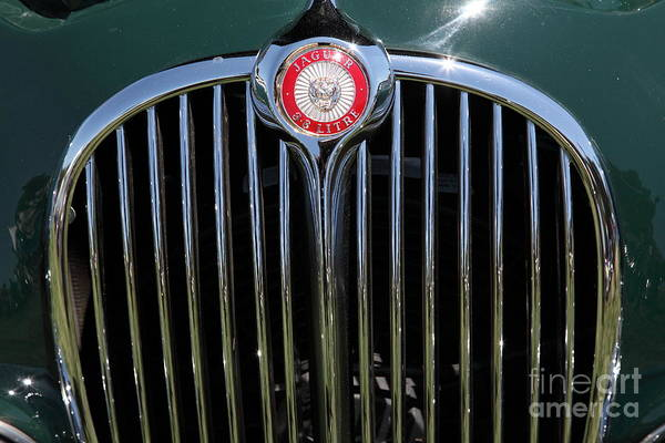 Transportation Print featuring the photograph 1962 Jaguar Mark II 5d23328 by Wingsdomain Art and Photography