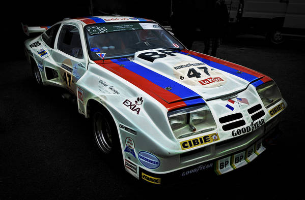 Chevrolet Racecar Print featuring the photograph 1976 Chevrolet Monza Imsa by Phil 'motography' Clark