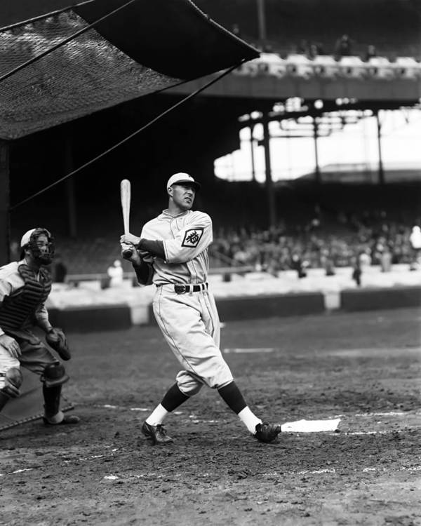 Baseball Print featuring the photograph Francis J. Lefty O'doul by Retro Images Archive