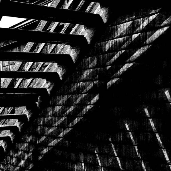 Stairs Print featuring the photograph Under The Stairs by David Patterson